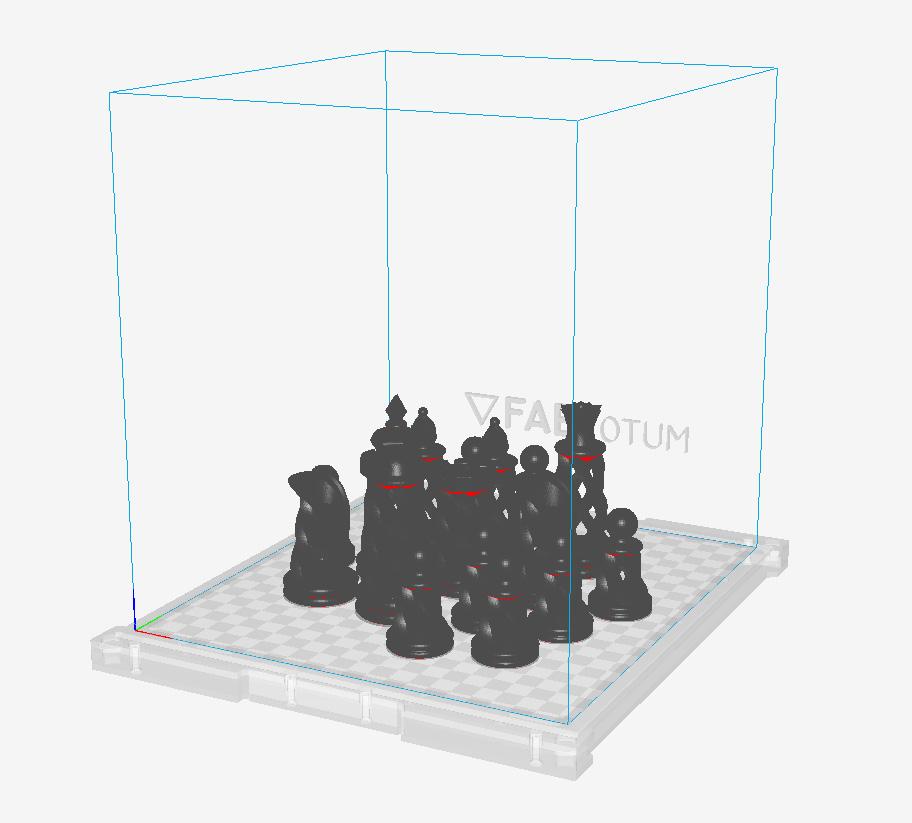 scacchi su stampa 3d