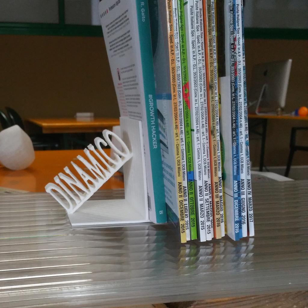 ferma libri dinamico personalizzabile